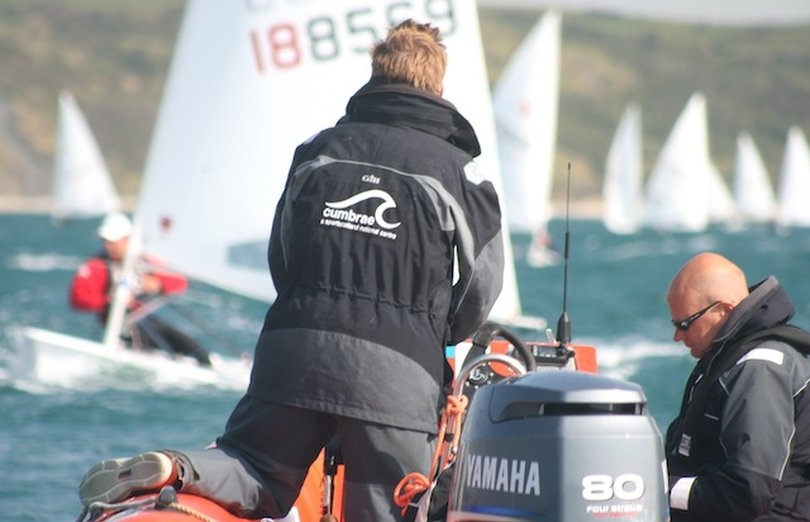 Cumbrae Hits the Training Spot