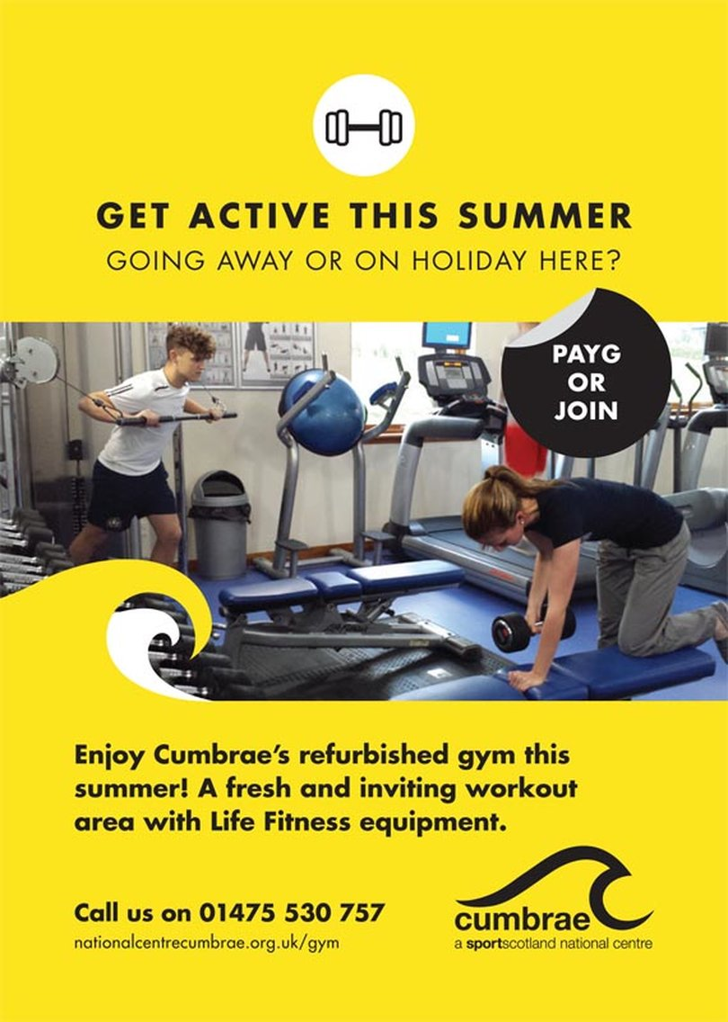 Summer Fitness at Cumbrae's Gym!