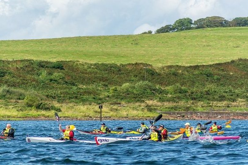 GREAT CUMBRAE SEA KAYAK RACE 2019