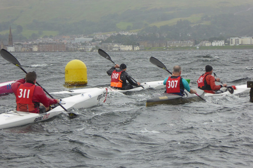 Another year, another successful 'Great Cumbrae Kayak Race'