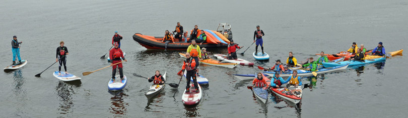 Cumbrae and Glenmore Lodge host the UK's first 2 Day Sea Kayak and SUP Symposium