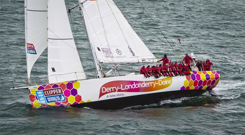 Clipper Round the World Race - Good luck to Cumbrae's Instructor Dan Smith, skipper on 'Derry'!