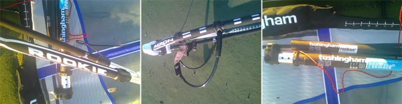 Tushingham (T4) 6.5m with mast and Aeron 160-230 Rookie boom