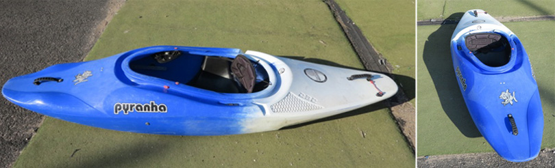 Piranha Inazone 242 kayak