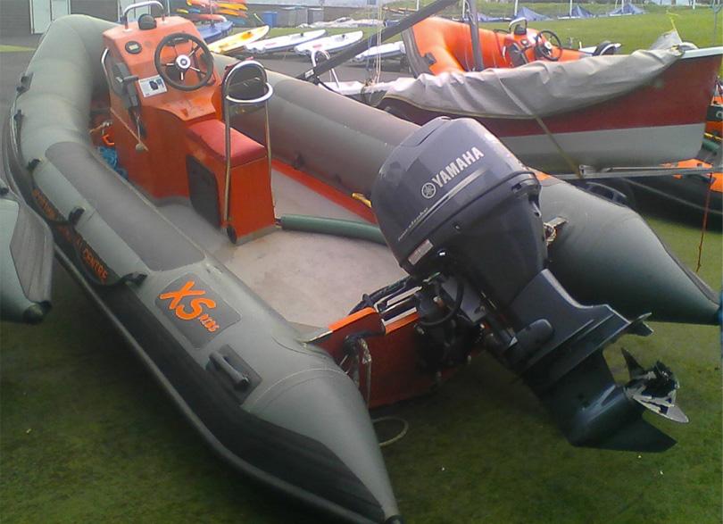 RIBs XS500's Yamaha 60HP