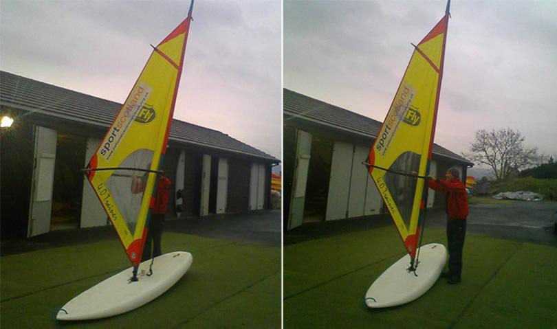 HiFly Primo windsurf board