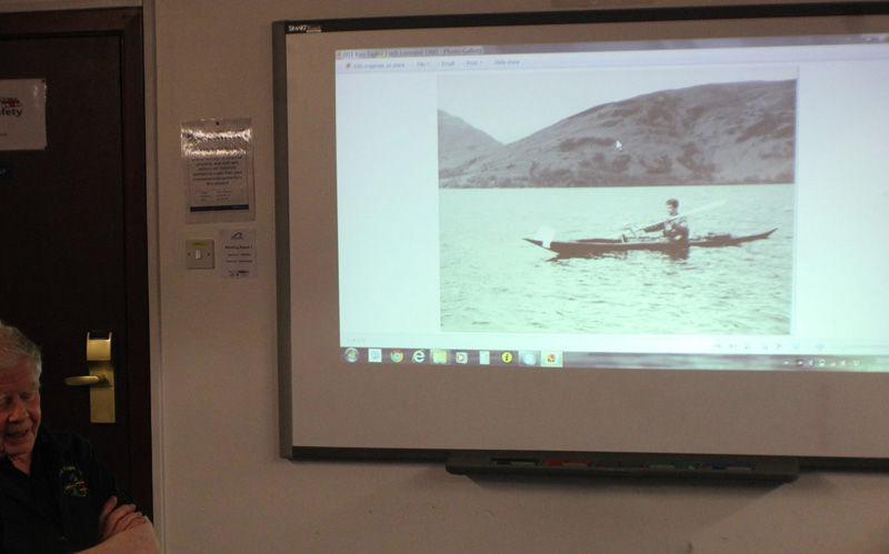 Duncan Winning's historical insight into kayaking
